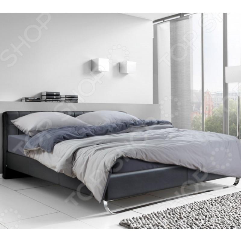 Комплект постельного белья ТексДизайн «Серебристый камень». 1,5-спальный