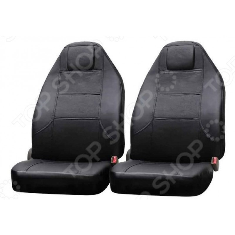 Набор чехлов для сидений SKYWAY Exclusive литой подголовник