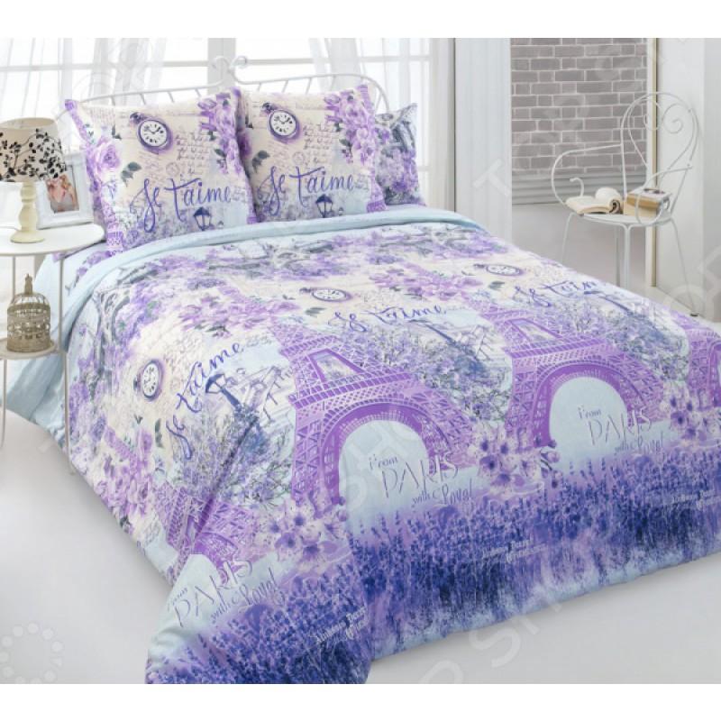 Комплект постельного белья ТексДизайн «Город любви 2»
