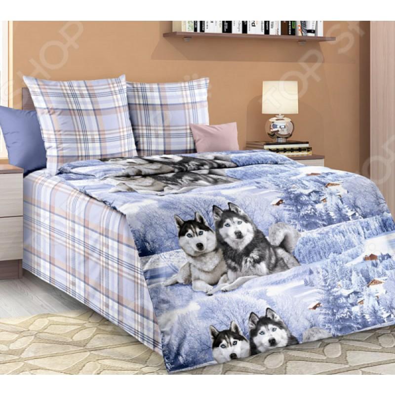 Комплект постельного белья Белиссимо «Хаски»
