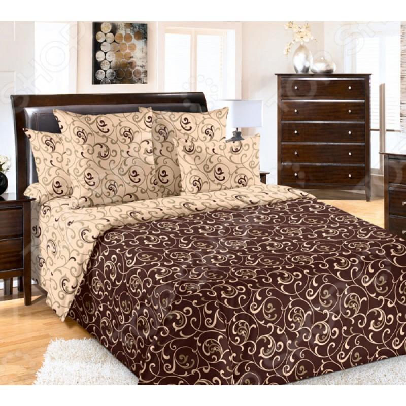 Комплект постельного белья Королевское Искушение «Вензель-1»