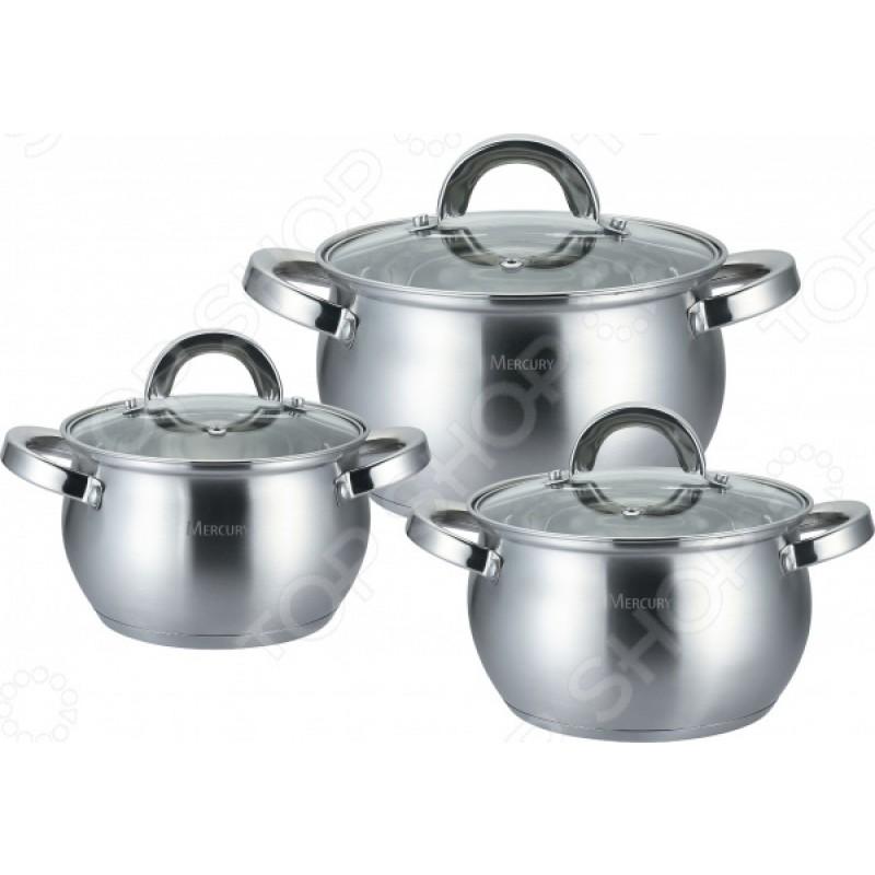 Набор посуды Mercury MC-6012