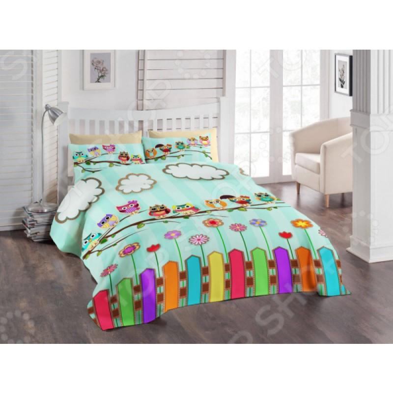 Детский комплект постельного белья ТамиТекс «Совушки»