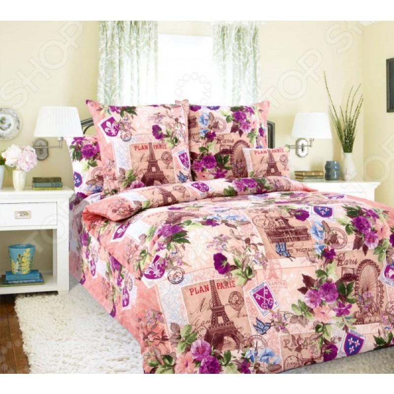Комплект постельного белья Белиссимо «Париж». 1,5-спальный