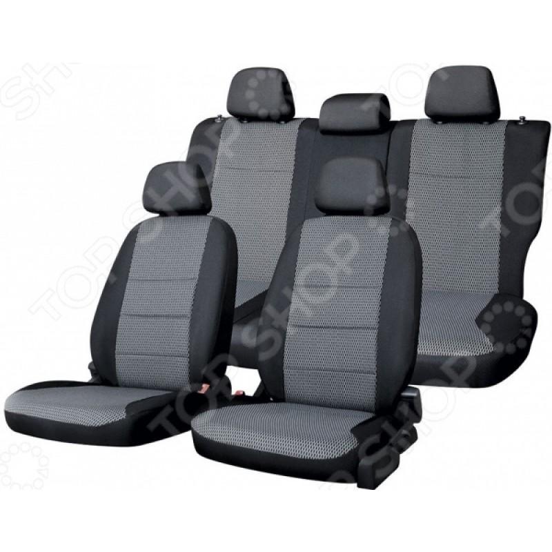 Набор чехлов для сидений Defly Nissan Almera, 2012-2018