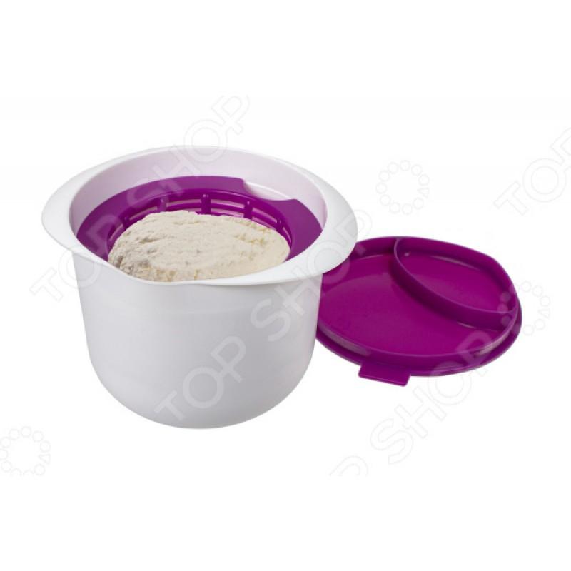Аппарат для приготовления домашнего творога и сыра «Нежное лакомство». Цвет: фиолетовый