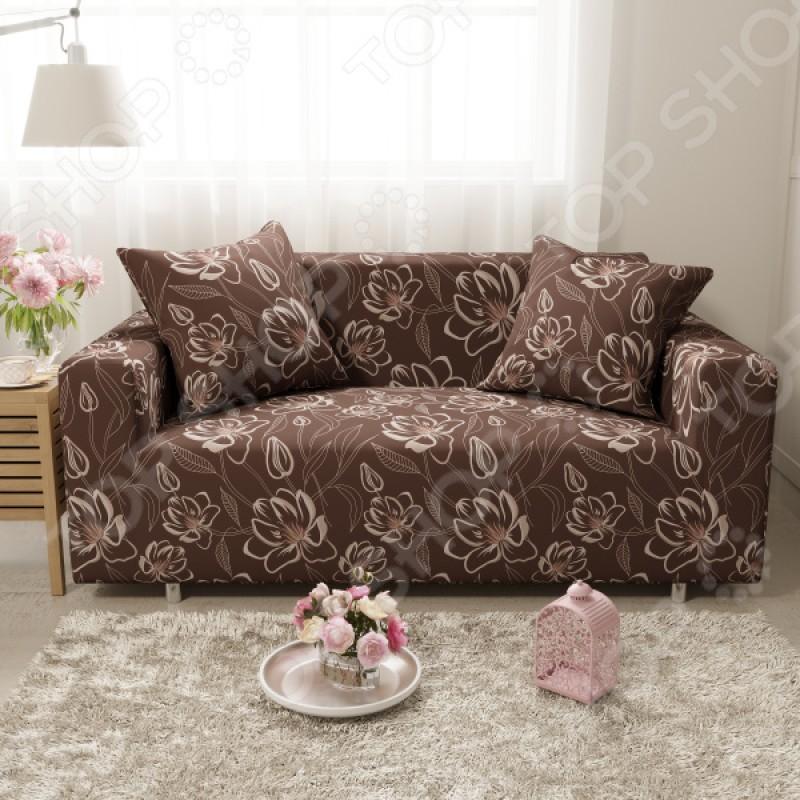 Чехол на четырехместный диван «Мокко». Размер: 240х290 см