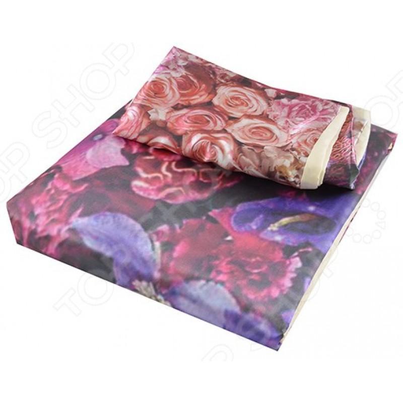 Комплект постельного белья «Вальс цветов». 1,5-спальный
