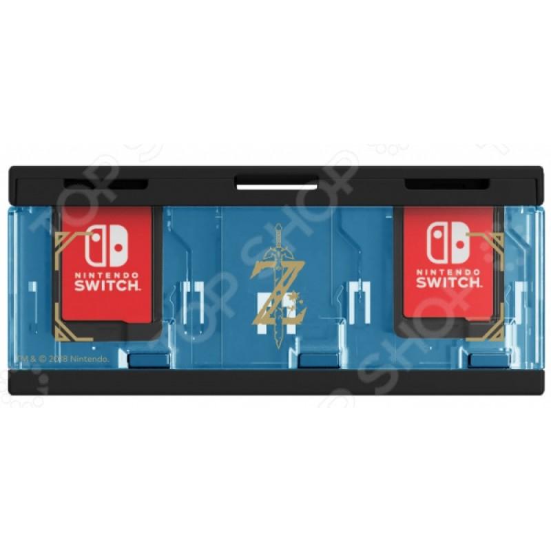 Кейс для хранения 6 игровых карт HORI для Nintendo Switch