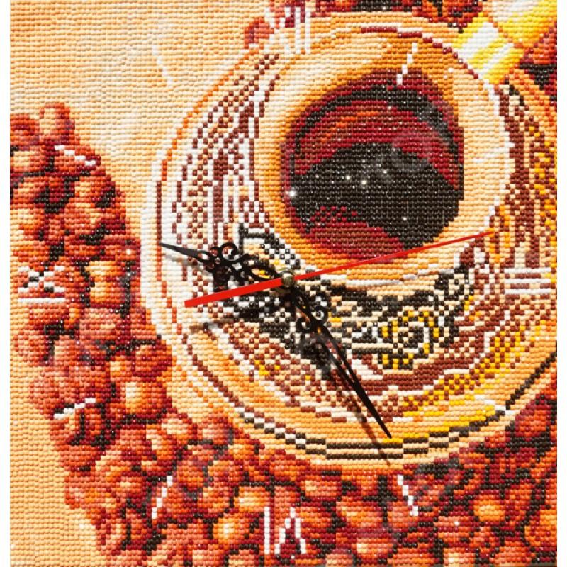 Часы из алмазной мозаики Color Kit «Восточный аромат»