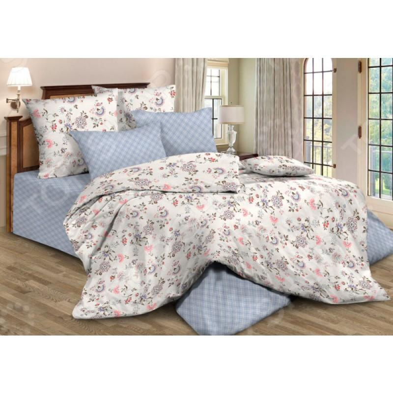 Комплект постельного белья Guten Morgen 795. 1,5-спальный. Цвет: голубой