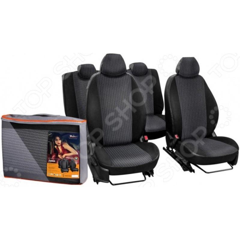 Набор чехлов для сидений Airline Ford Focus III, 2011, «Лима» ACCS-L-24