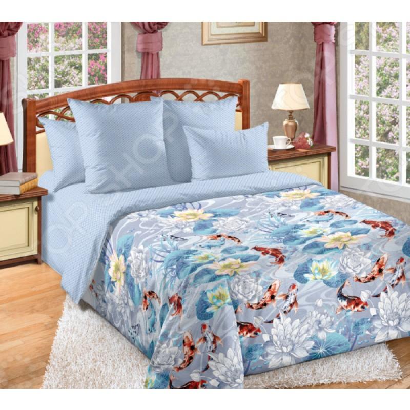 Комплект постельного белья ТексДизайн «Речной сад»