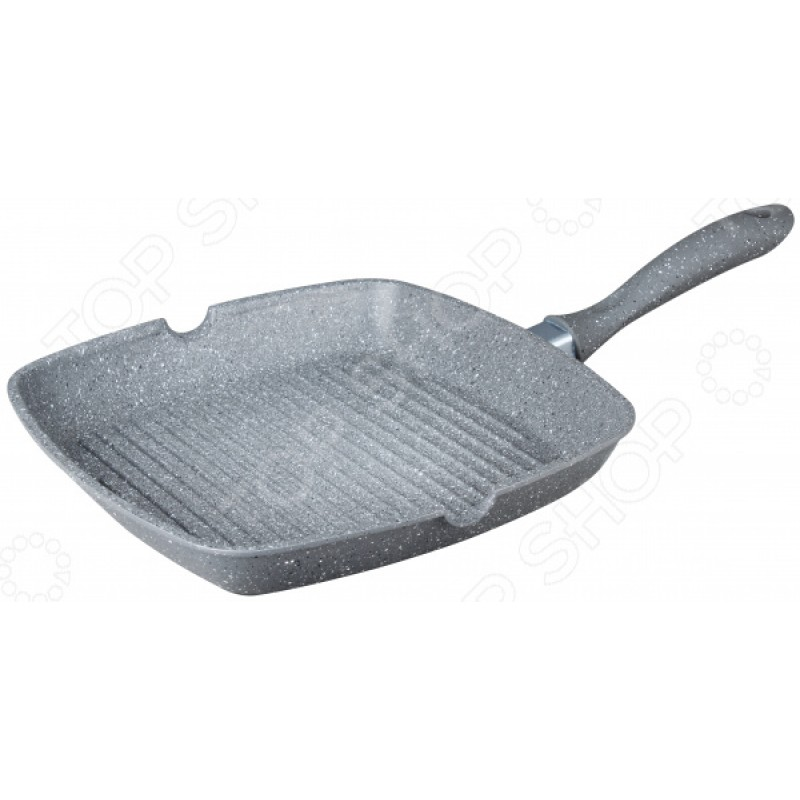 Сковорода-гриль Bekker Silver Marble