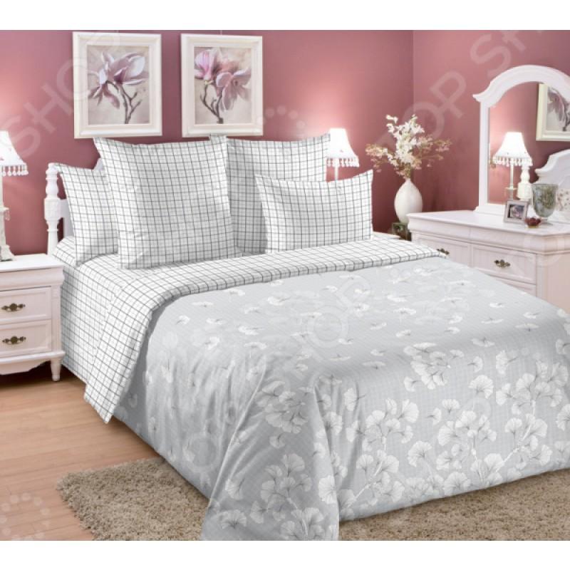 Комплект постельного белья ТексДизайн «Атмосфера». Цвет: серый