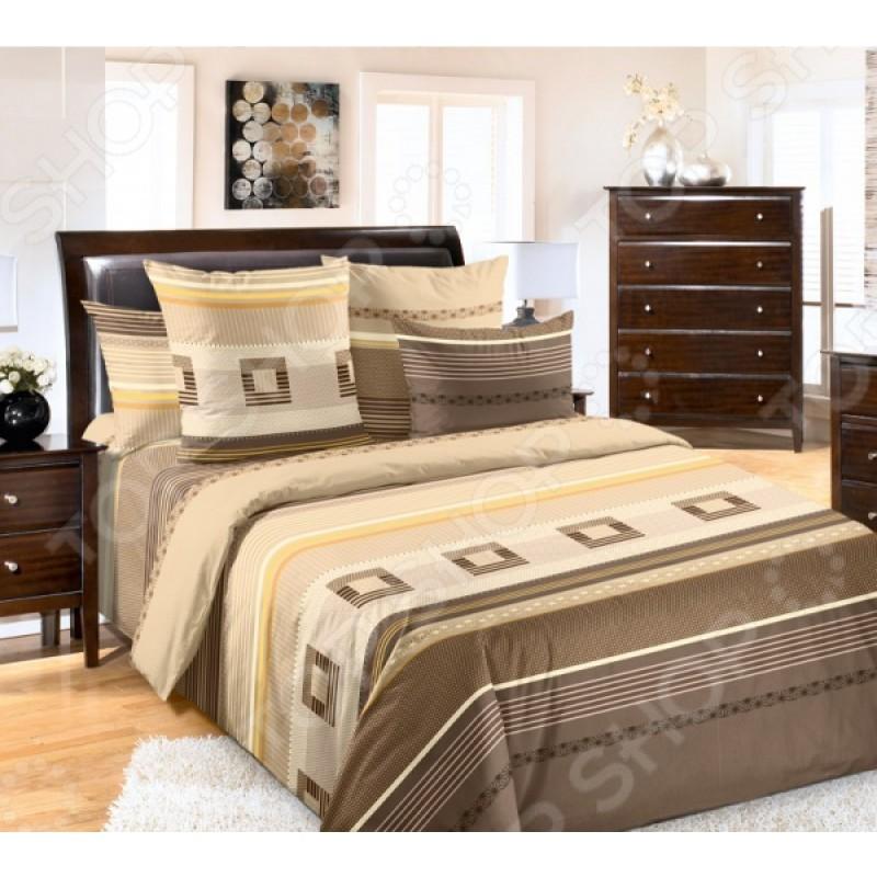 Комплект постельного белья Королевское Искушение «Эдгар». Тип ткани: перкаль