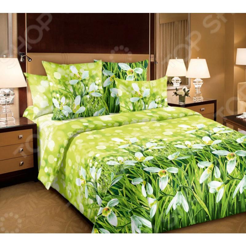 Комплект постельного белья Белиссимо «Подснежники»