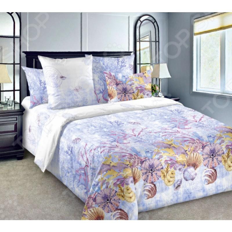 Комплект постельного белья ТексДизайн Белиссимо «Коралловый риф»