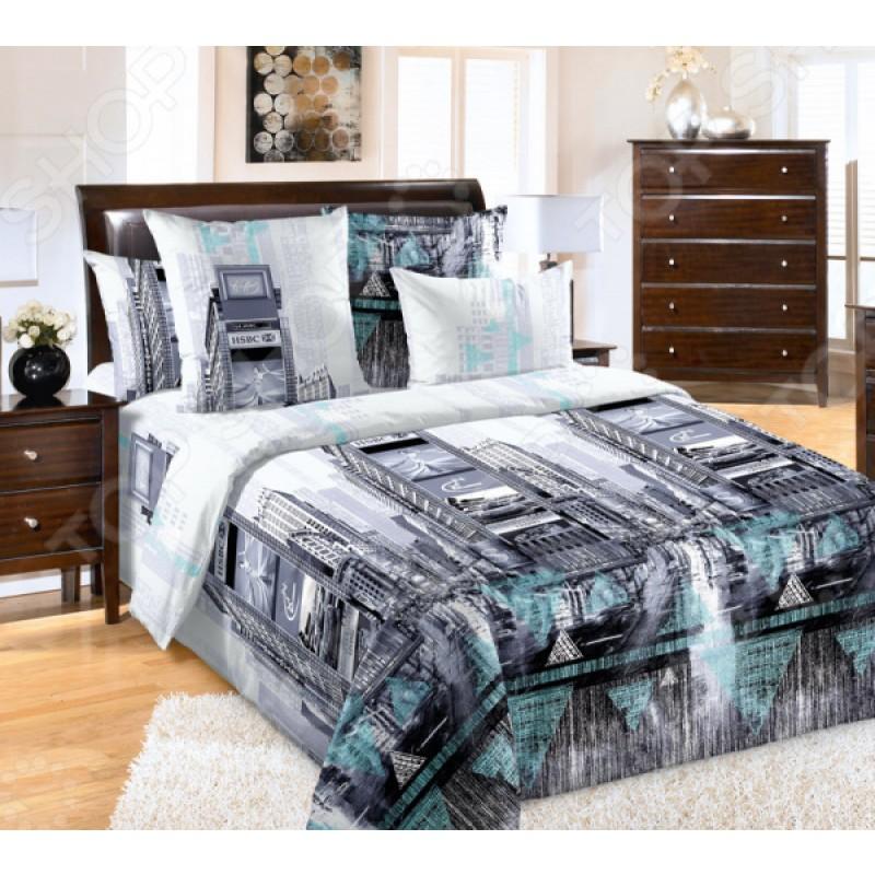 Комплект постельного белья ТексДизайн «Таймс-сквер»