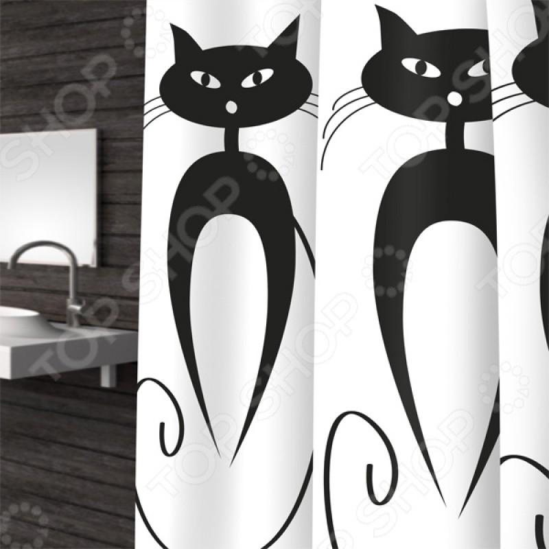 Штора для ванной Bacchetta Cats