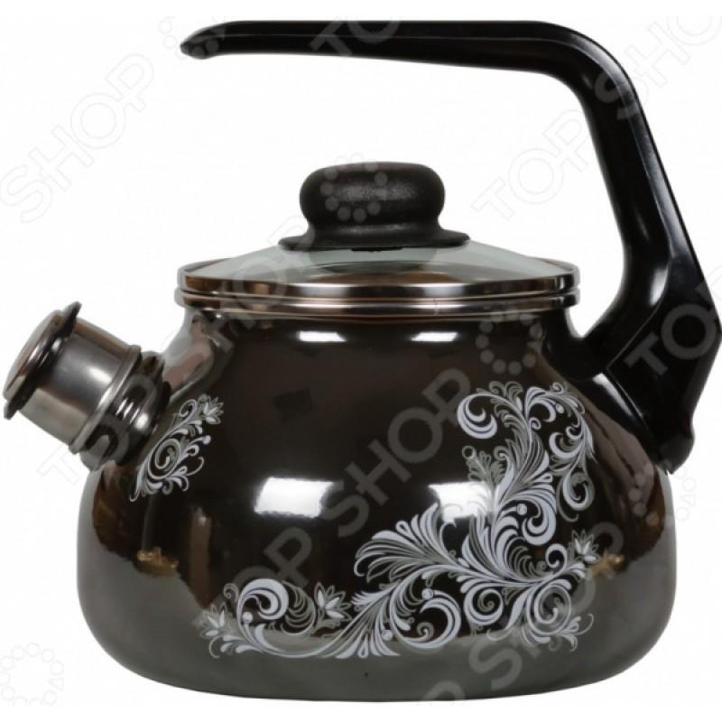 Чайник эмалированный со свистком Vitross Iseberg