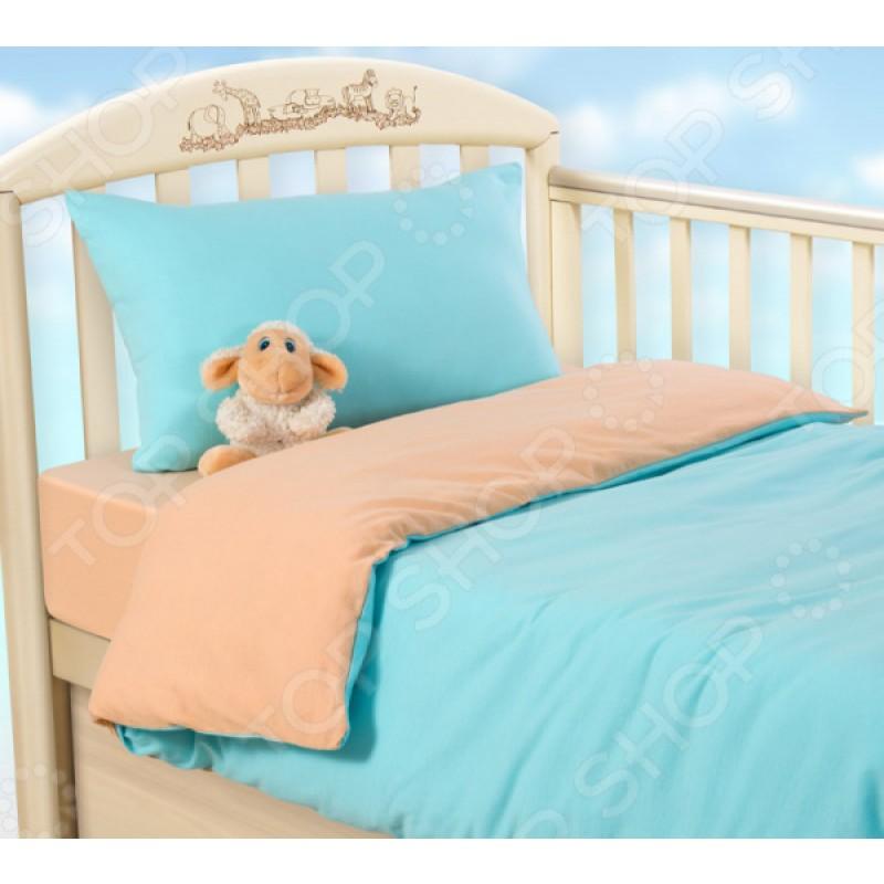 Ясельный комплект постельного белья ТексДизайн «Летний закат»