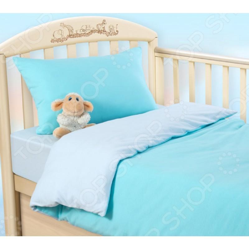 Ясельный комплект постельного белья ТексДизайн «Морской ветерок»