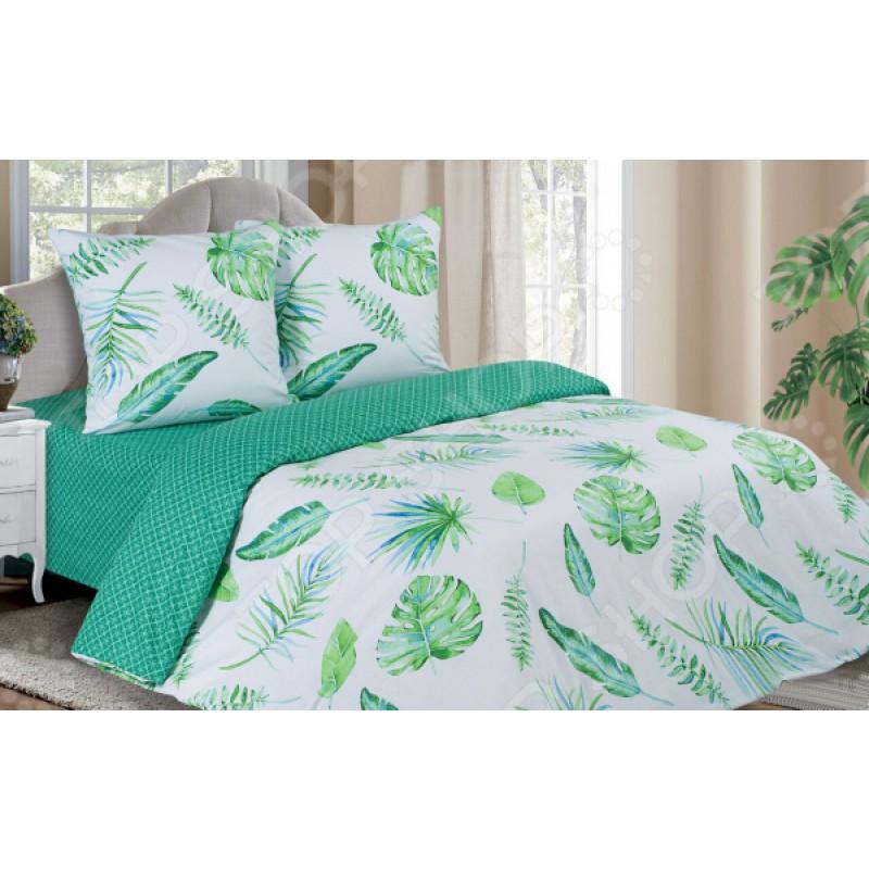 Комплект постельного белья Ecotex «Поэтика. Тропики»