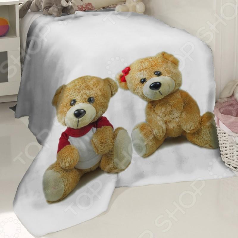 Плед детский флисовый ТамиТекс «Медвежата»