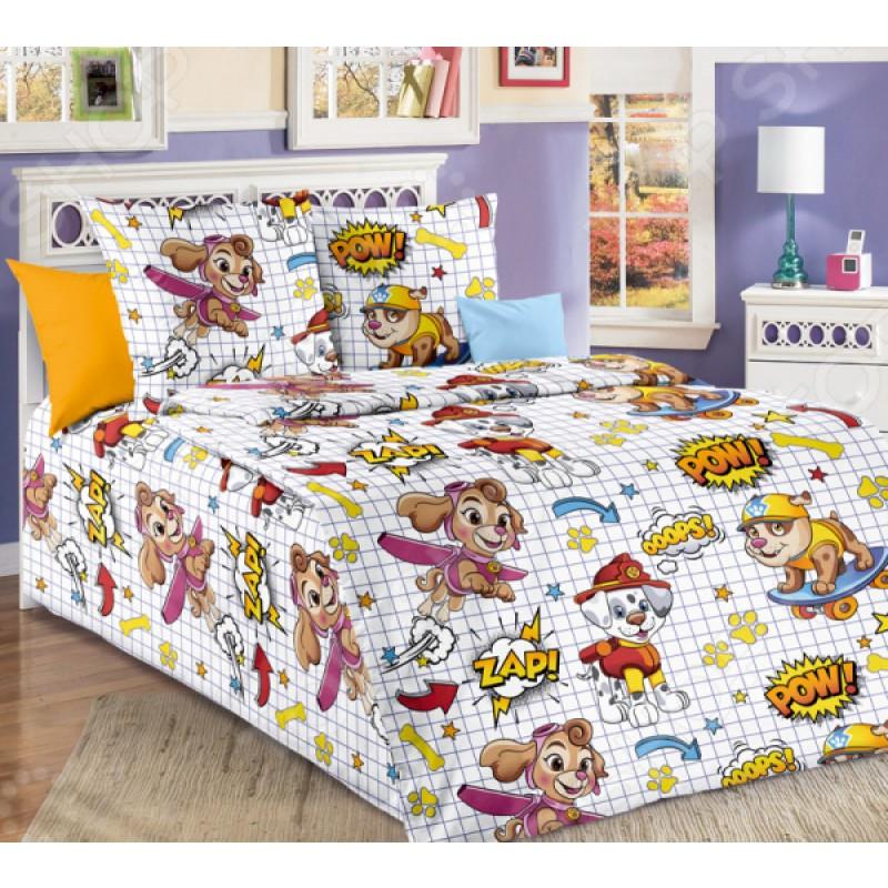 Детский комплект постельного белья ТексДизайн «Команда»