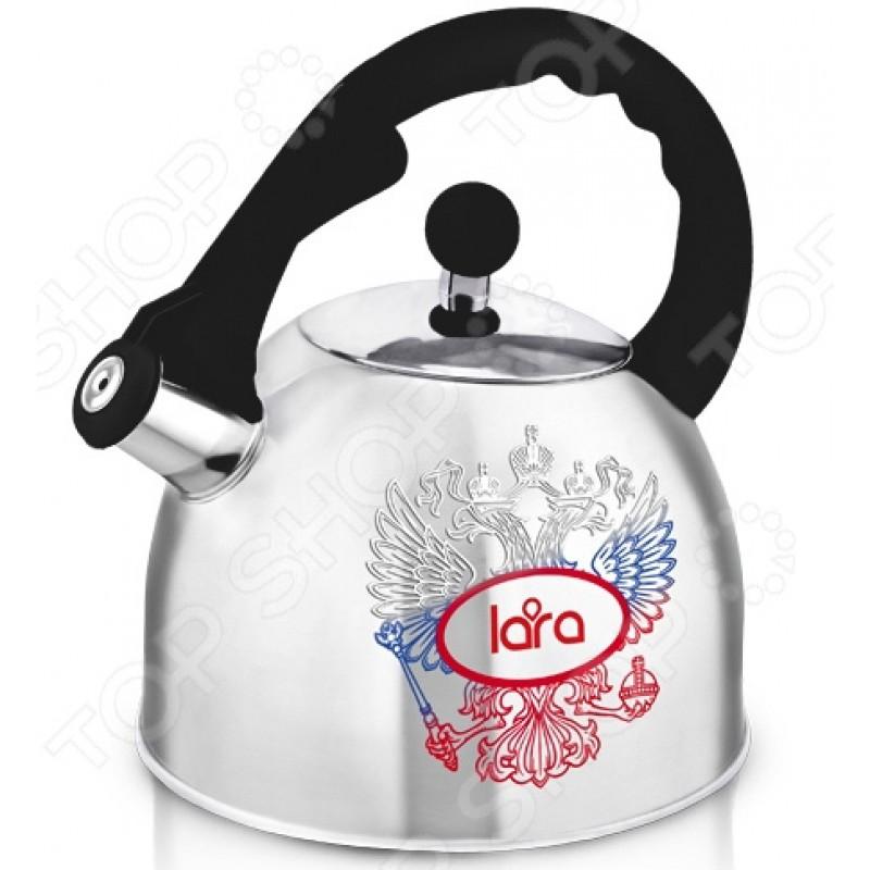 Чайник с терморисунком LARA LR00-63 «Герб России»