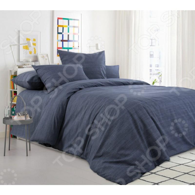 Комплект постельного белья ТексДизайн «Графитовый камень»