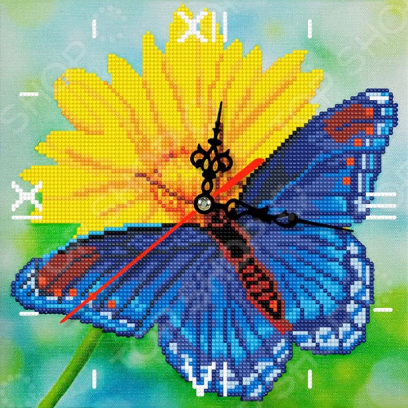 Часы из алмазной мозаики Color Kit «Лето»
