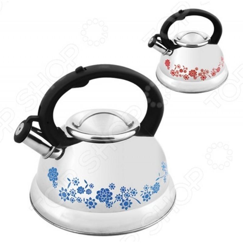 Чайник со свистком Mallony MAL-0417B