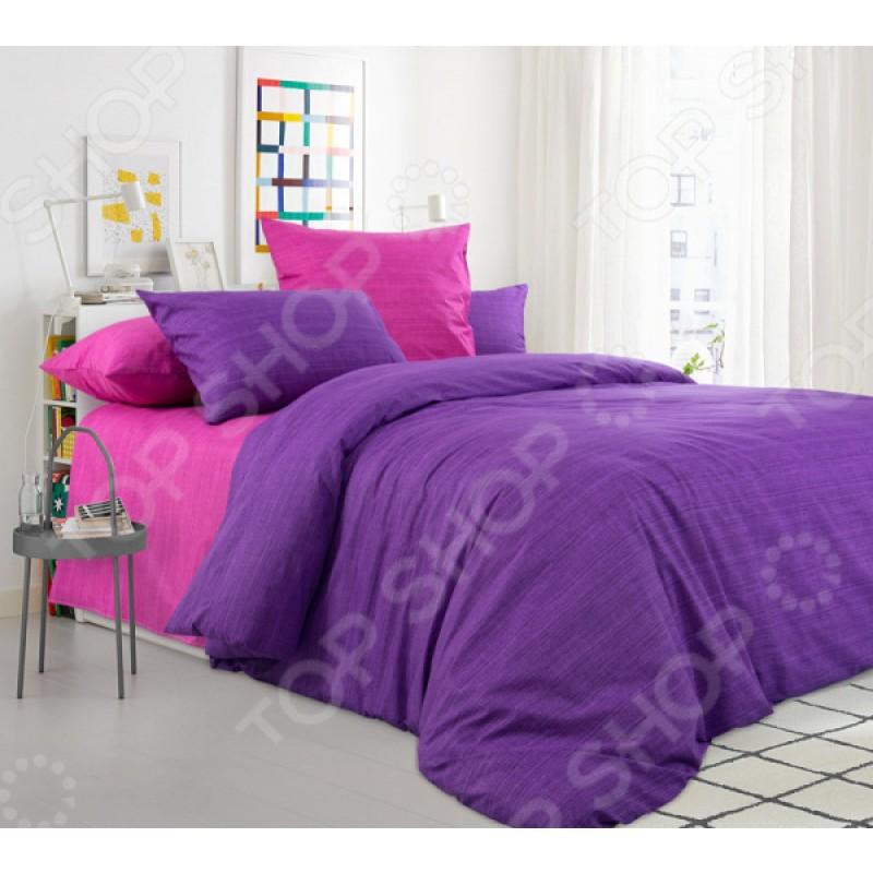 Комплект постельного белья ТексДизайн «Дикая орхидея». Тип ткани: перкаль