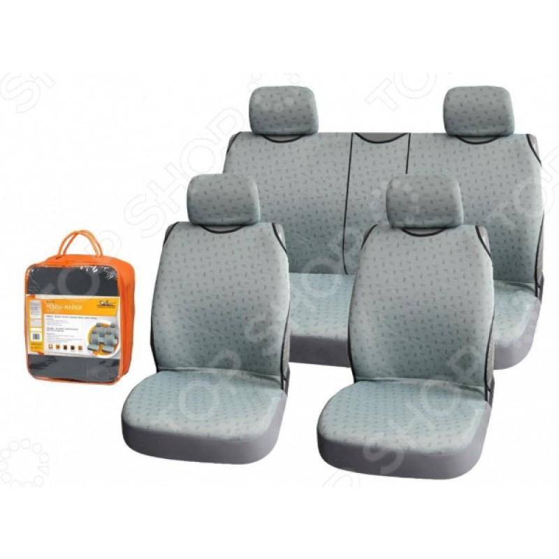 Набор чехлов-маек для передних и задних сидений Airline «Виспер» ASC-KV-06
