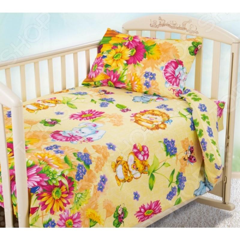 Ясельный комплект постельного белья Бамбино «Летнее утро»
