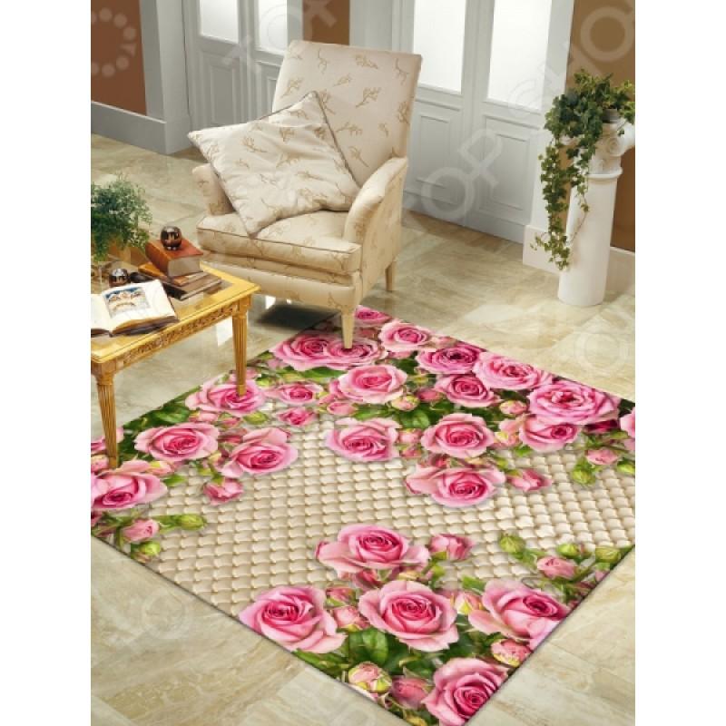 Ковер ТамиТекс «Розовый сад»