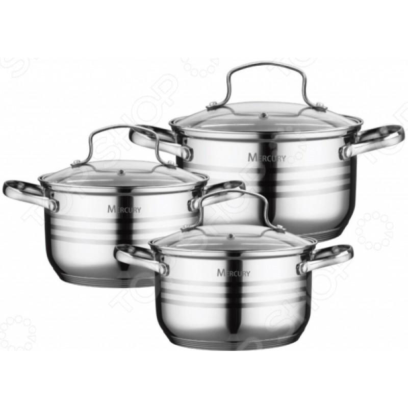 Набор посуды Mercury MC-6021