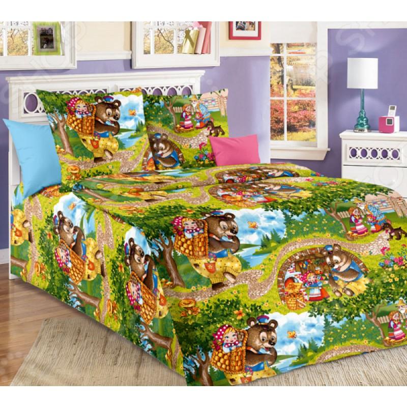 Детский комплект постельного белья ТексДизайн «Машенька»