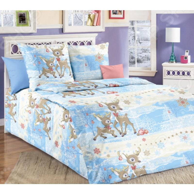 Комплект постельного белья ТексДизайн «Оленята»