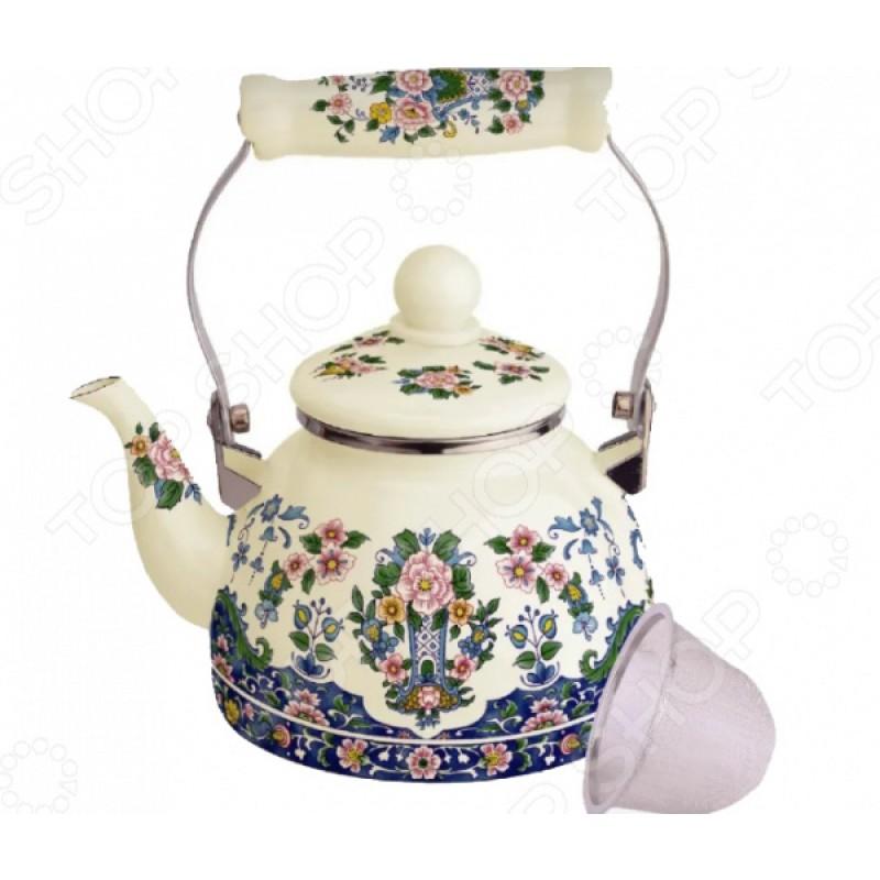 Чайник эмалированный Kelli KL-4468