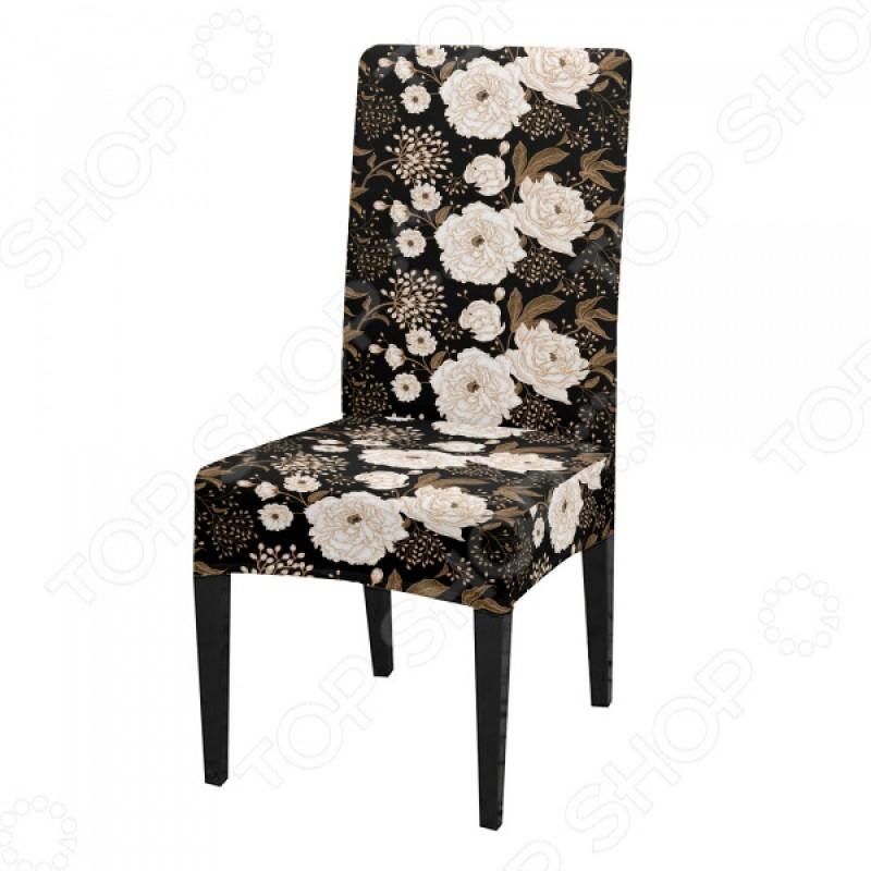 Чехол на стул «Пионы»