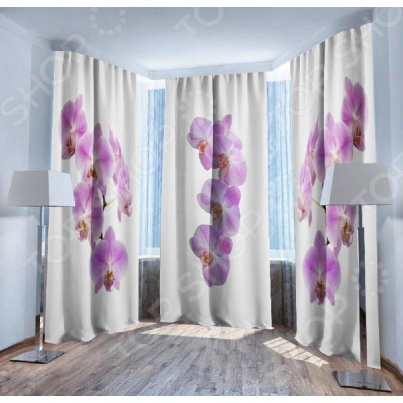 Фотошторы ТамиТекс «Нежность орхидеи»