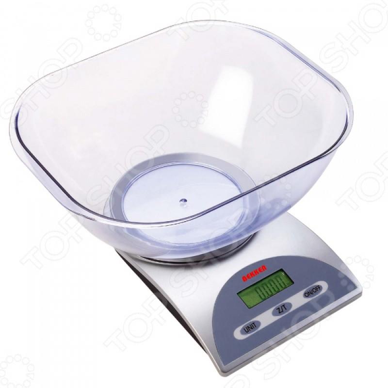 Весы кухонные Bekker BK-1