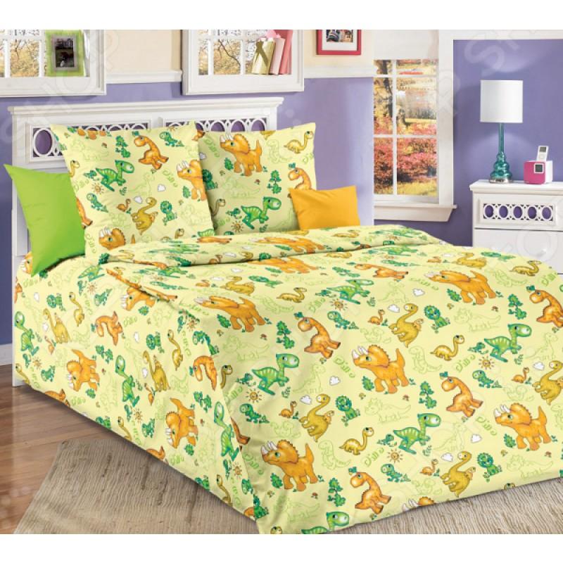 Детский комплект постельного белья ТексДизайн «Динозаврики»