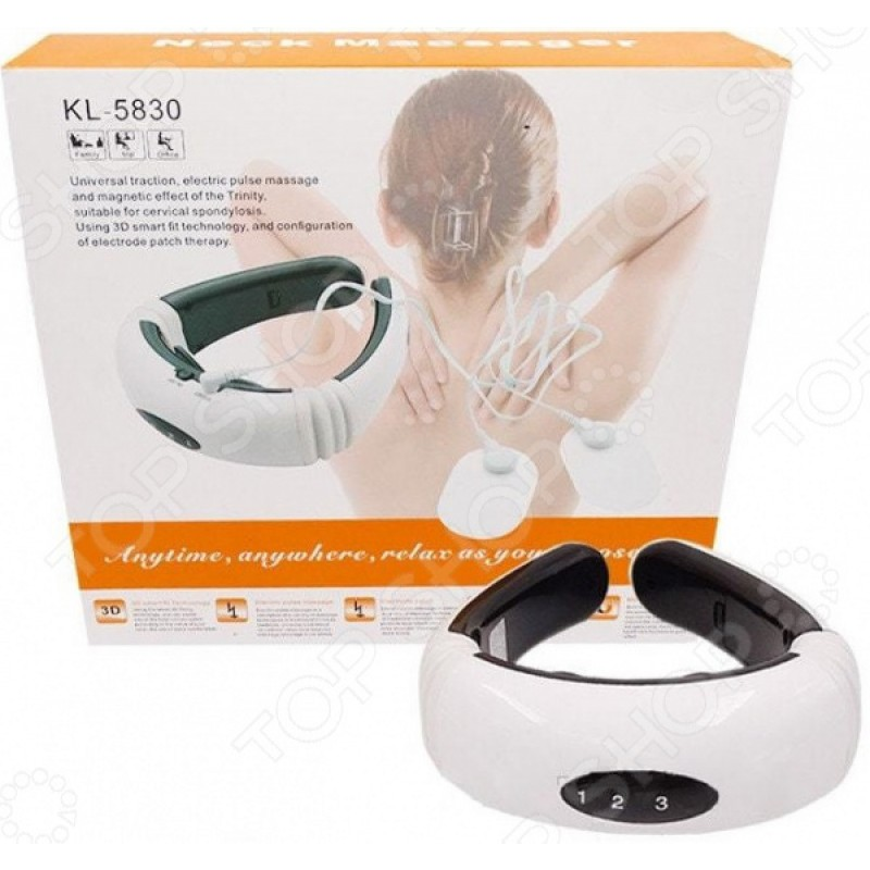 Массажер для шеи Ricotio KL-5830 «Осстео»