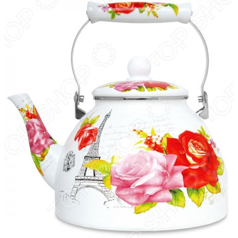 Чайник эмалированный LARA LR00-33