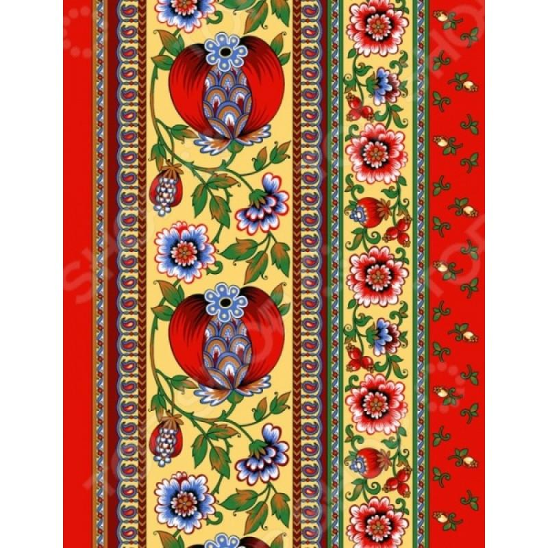 Полотенце вафельное ТексДизайн «Гранатовый браслет»