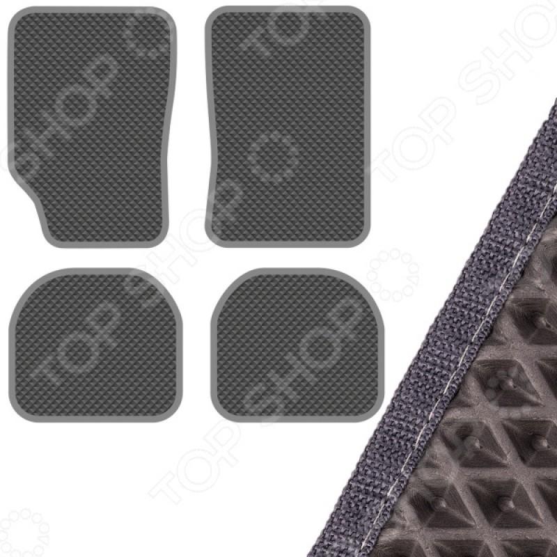 Комплект из 4-х ковриков в салон автомобиля с левым рулем SKYWAY «Универсальный»